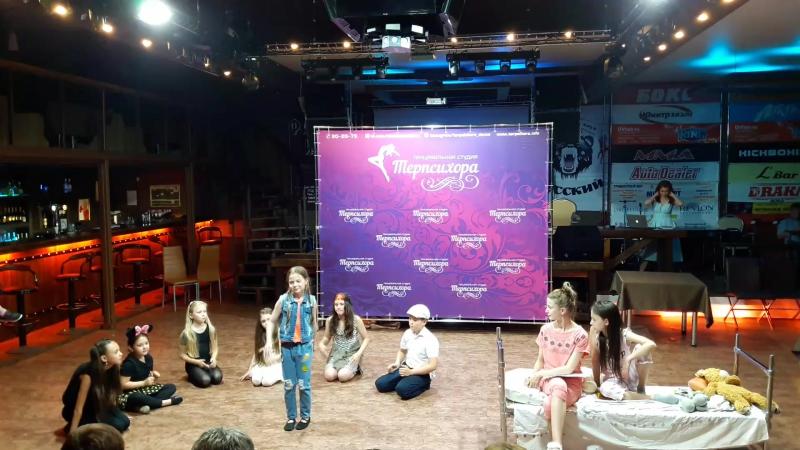 Спекталь РЭПка группы базового курса актёрского мастерства. Бар Ring-bar
