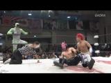 Jimmy K-ness JKS, Jimmy Kanda vs. Shun Skywalker, U-T (Dragon Gate - Scandal Gate 2017)