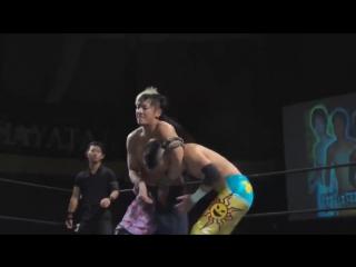 Kenshin Chikano, YO-HEY, Seiki Yoshioka vs. Yuki Aoki, Kohei Kinoshita, Naoki Tanizaki (DOVE - Violent Live! 2017)