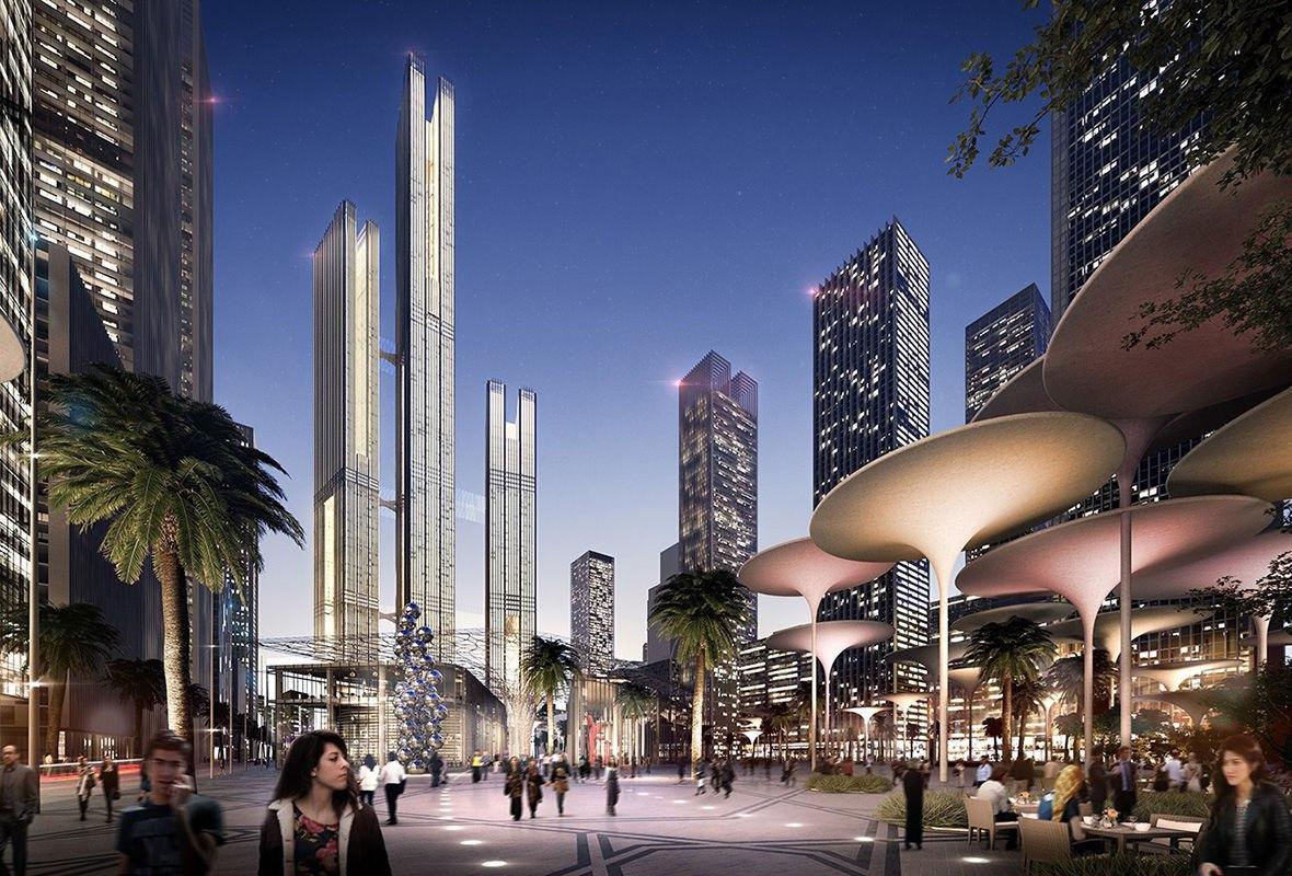 UniUFoXidOE 11 крупнейших мегапроектов, которые изменят облик городов к 2035 году