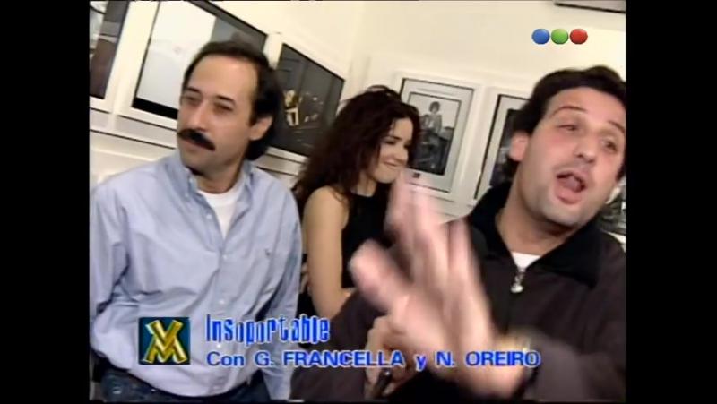 El Insoportable con Francella y Natalia Oreiro Videomatch 98