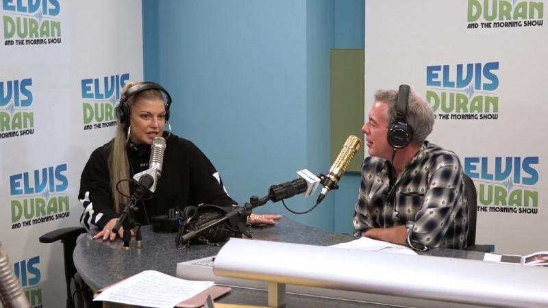 Фёрги говорит о 'Double Dutchess' Elvis Duran Show