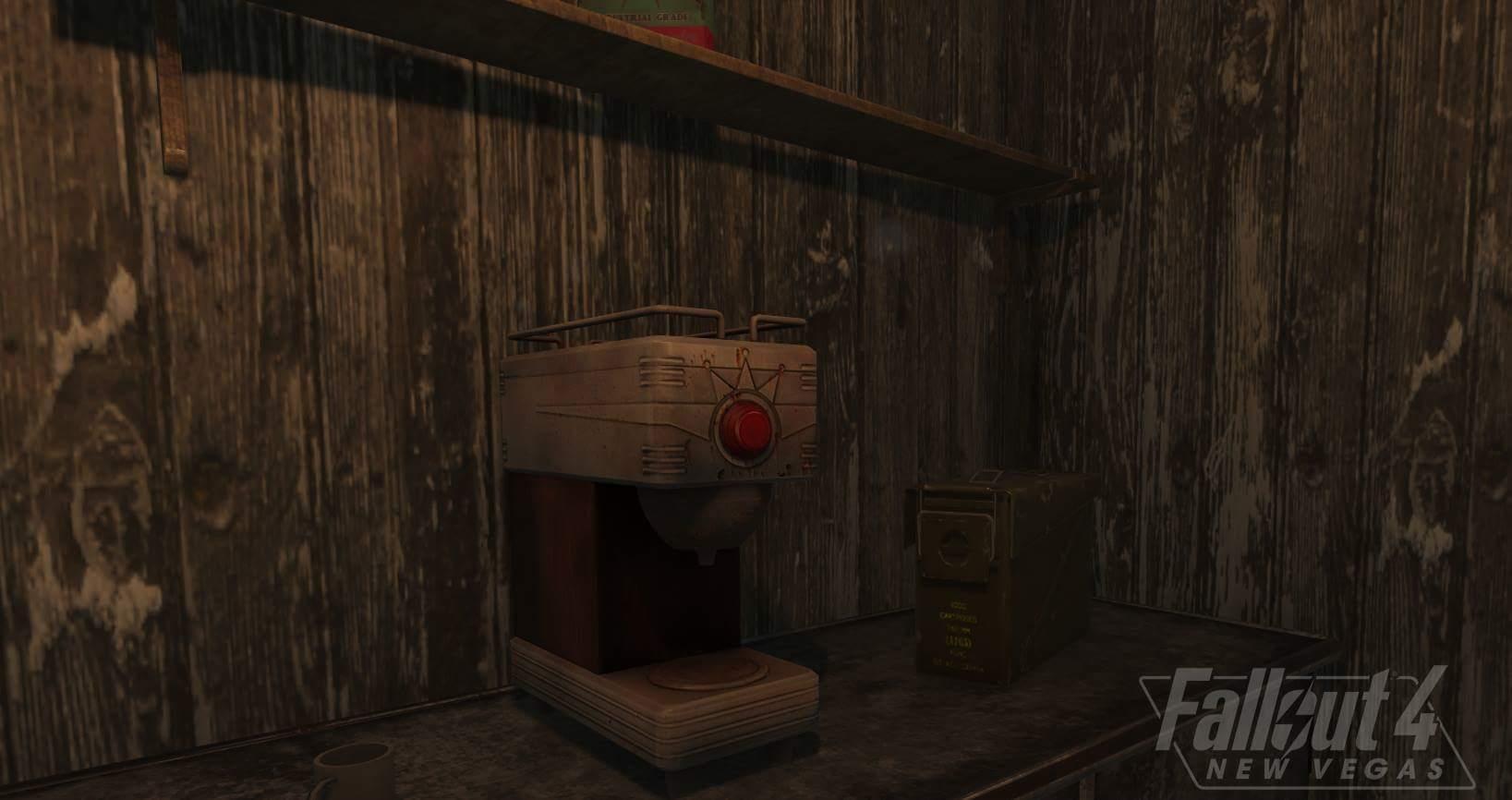 На этой неделе разработчики Fallout 4: New Vegas работали над моделями техники из New Vegas :