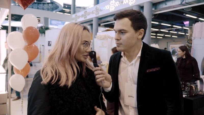Интервью с гостями выставки Wedding Weekend. Монтаж и съемка Альмир Зарипов