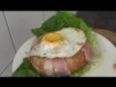 Завтрак быстрого приготовления / Бэйгл в беконе