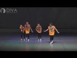 Детские современные танцы, группа 8-12 лет с номером