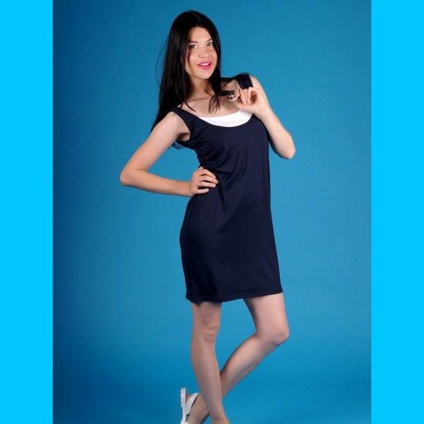 Платье трикотажное Клэр