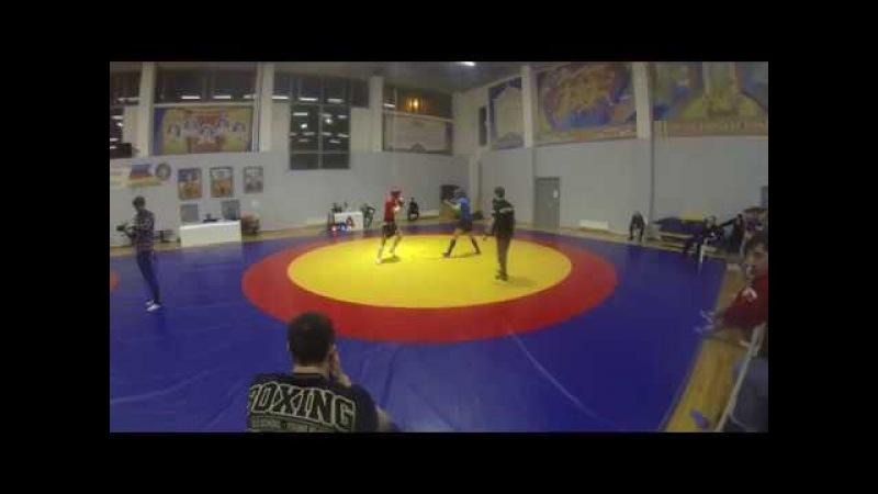 Чемпионат Москвы по панкратиону, Изотов Нестор (красный)