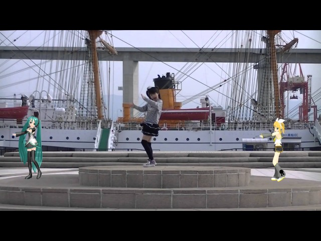 【AMU】リリリリ★バーニングナイトを踊ってみた 【MMD】