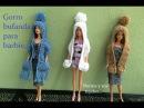 Gorro con bufanda para Barbie