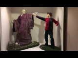 Gentle giant Harry Potter and Voldemort 14 statue