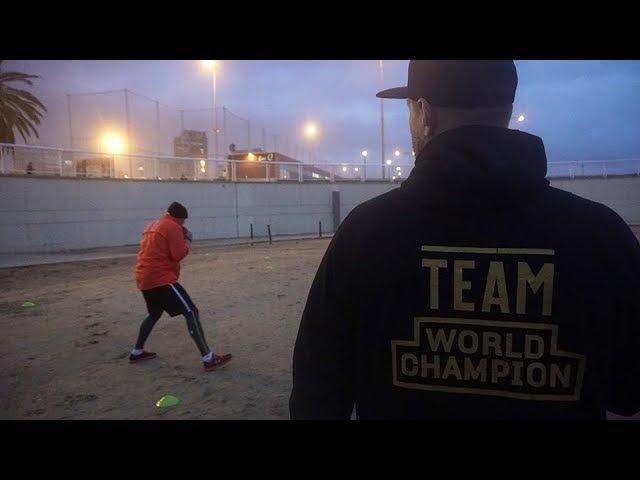 Видео: Александр Усик подготовка к финалу (Барселона, часть 1) » Freewka.com - Смотреть онлайн в хорощем качестве