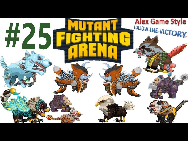 Mutant Fighting Arena - Unlocked the Crocodile (Part 25)