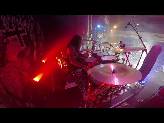 BloodHammer [Belphegor] - Devil's Son (Live in Montreal, 8.12.2017) [DrumCam]