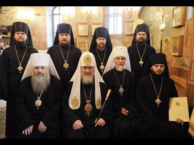 Содомия и экуменизм синонимы. Епископ Николай Ашимов (справа внизу) развращает м...