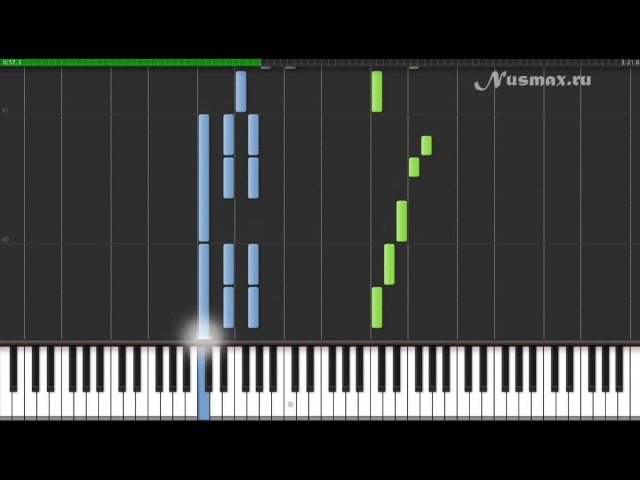Michael Giacchino - Married Life (OST Pixar Up!) Piano Tutorial (Synthesia Sheets MIDI)