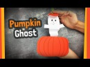 Pumpkin Ghost   Easy to make Halloween crafts for kids
