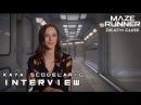 Maze Runner: The Death Cure - Kaya Scodelario Teresa Interview