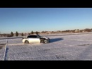 Subaru Impreza WRX Crazy AWD Snow Drifting