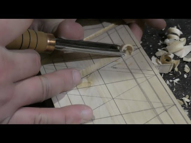 Резьба по дереву для начинающих инструменты, п-образные стамески