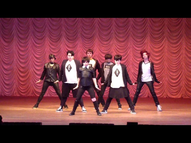 BTS - Danger cover by S.W.A.T (World IdolCon 281115)