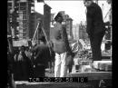 A Roma Mussolini visita i lavori in corso nella capitale