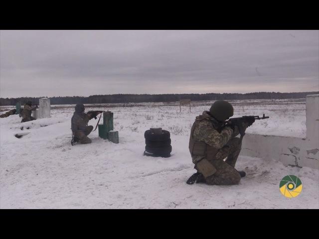 Бойовий вишкіл воїнів Президентського полку