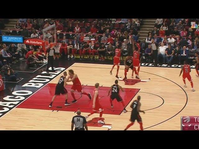 DeMar DeRozan Makes Two Bulls Players Jump Than Hits Buzzer Beater! Raptors vs Bulls!