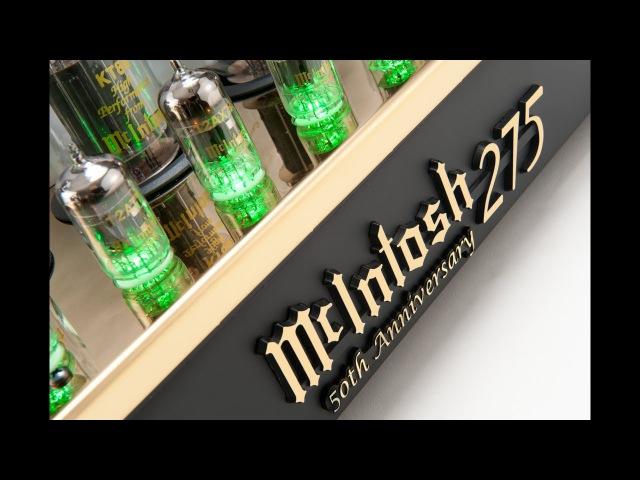 Ламповый усилитель McIntosh MC275