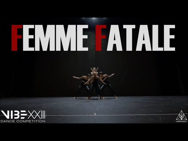 Femme Fatale VIBE XXIII 2018 Front Row