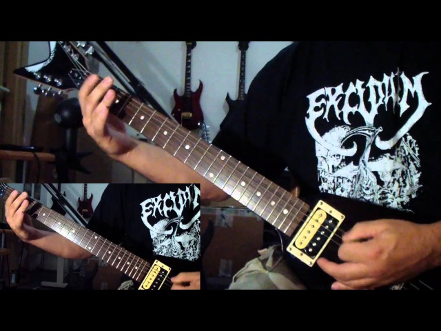 Krisiun Combustion Inferno guitar cover