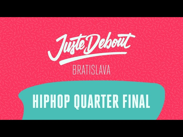 Juste Debout Bratislava 2018 - HipHop Quarter Final - Fabreezy Anissa vs. Perla KillaSon (win)