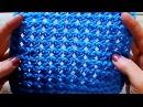Ажурный узор-сеточка сердечками Вязание спицами Видеоурок 211