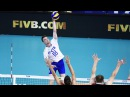 TOP 10 Best Spikes by Maxim Zhigalov Incredible jump World League 2017