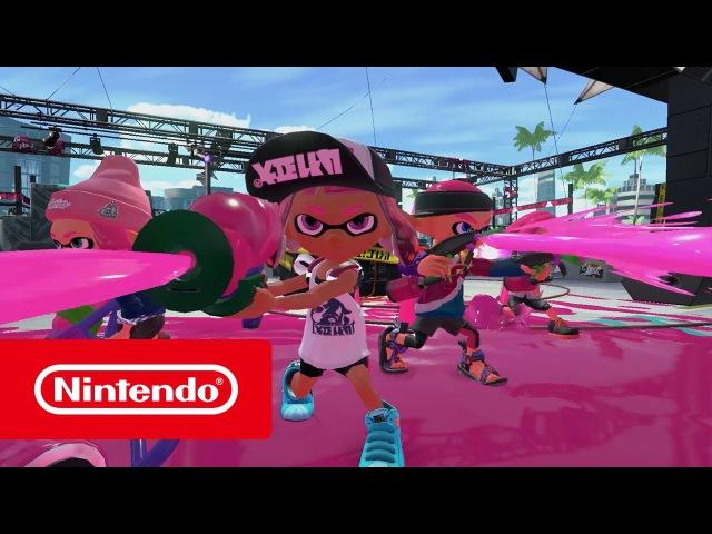 Splatoon 2 - Launch Trailer (Nintendo Switch)