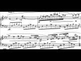 Samuel Barber - Nocturne, Op.33 for Piano (1959) Score-Video