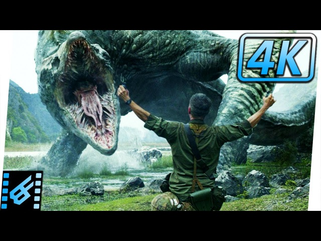 Cole Sacrifices Himself | Kong Skull Island (2017) Movie Clip