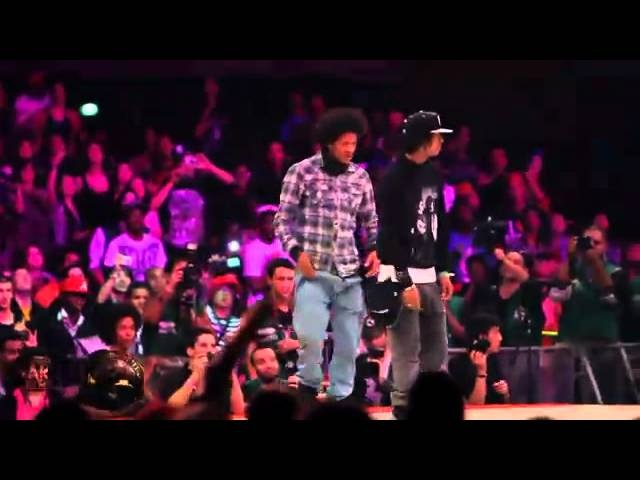 Les Twins France vs LilO Tyger B USA Juste Debout 2011 Semi Final