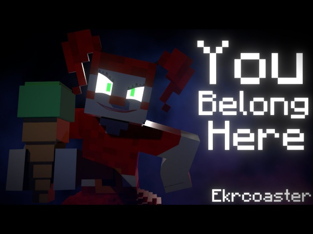 You Belong Here   Minecraft Music Video [Song by JTMusic]