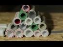 § 2. ПП-Курс. Всё об армировке полипропиленовых труб. Какую выбрать? I PP pipes reinforcement