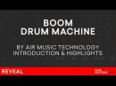Boom VST/AU/Plugin | Air Music | Classic Analogue Drum Machine 808 909 CR78 606 Overview | Review
