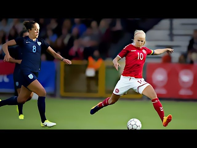 Pernille Harder Vs England Friendly ⊕ 2017 EURO prep