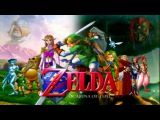 The legend of Zelda ocarina of time!