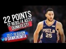 Ben Simmons Full Highlights 2017.11.13 at Clippers - 22 Points, 12 Rebs, SiCK DUNKFEST!