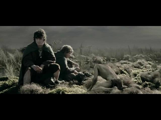 Фродо, Сэм и Голлум.