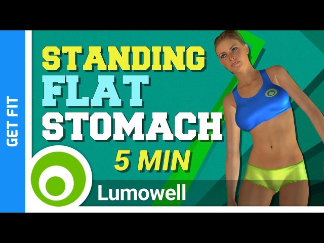 5 Minute Standing Flat Stomach Workout