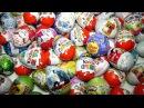 Киндер Сюрприз Surprise eggs Игрушки Машинки Робокар Поли Трансформеры Тачки Хот Вилс...