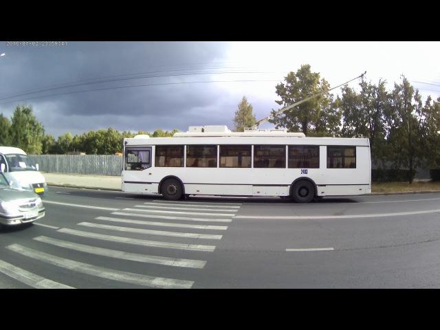 Троллейбус № 2483 маршрут 13 ул. Революционная