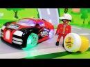 Мультики про машинки. Конфетка Желейный Медведь в мультике - Крутая Тачка Лего Мультфильмы для детей