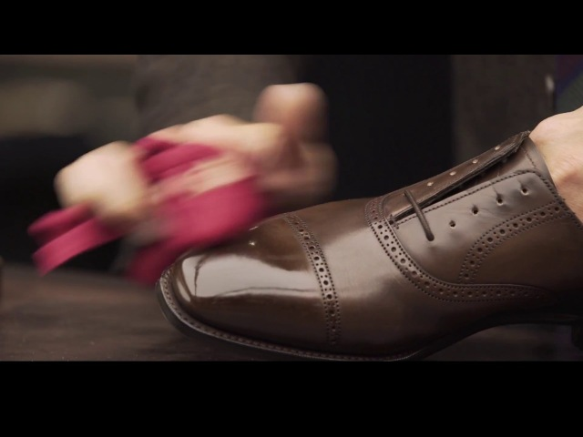How to Shine Shoes with Yuya Hasegawa of Brift H